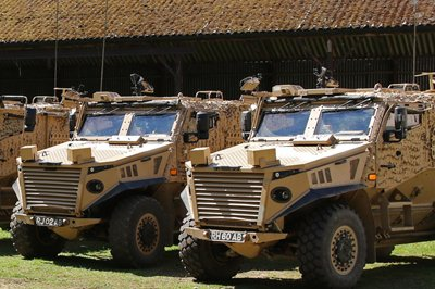 military vehicle manufacturer reduces water costs